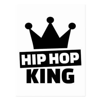 Hip hop king postcard