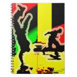 Hip Hop. Libro De Apuntes Con Espiral