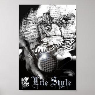 hip hop lifestyle poster