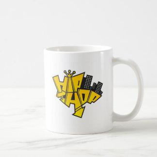 Hip-hop logo coffee mug