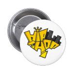 Hip-hop logotipo pins