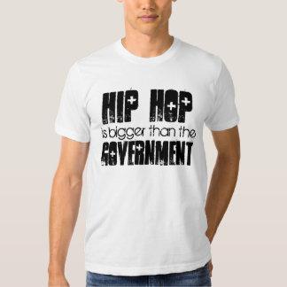 HIP HOP más grande que el gobierno Poleras