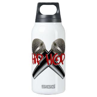 Hip Hop - mc rap dj rap turntable mic graffiti r&b Insulated Water Bottle