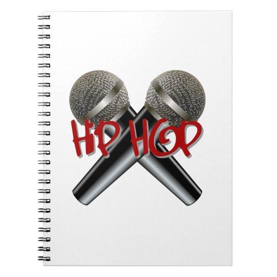 Hip Hop Mc Rap Dj Rap Turntable Mic Graffiti Rb Notebook Zazzlecom