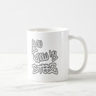 HIP HOP CLASSIC WHITE COFFEE MUG