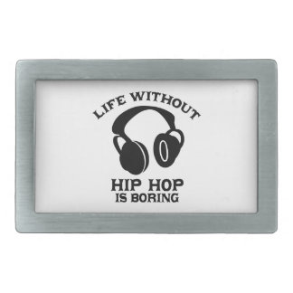 Hip-hop Music designs Belt Buckle