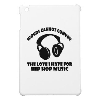 Hip-Hop Music designs Cover For The iPad Mini