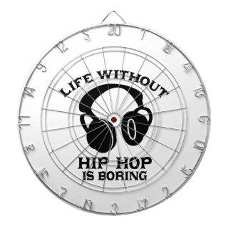 Hip-hop Music designs Dartboard