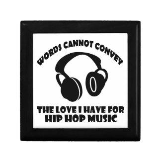 Hip-Hop Music designs Gift Box