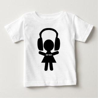 Hip Hop Music, Headphones, Hip-Hop Love Baby T-Shirt