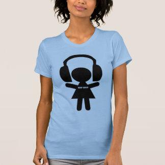 Hip Hop Music, Headphones, Hip-Hop Love T-Shirt