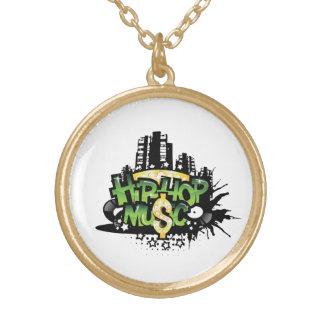 Hip-Hop Music Necklace