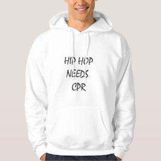 Hip Hop Needs CPR tee by Nicholas Joseph