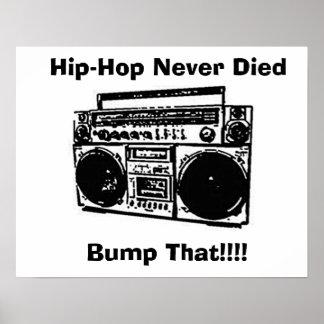 Hip-Hop Never Died Poster