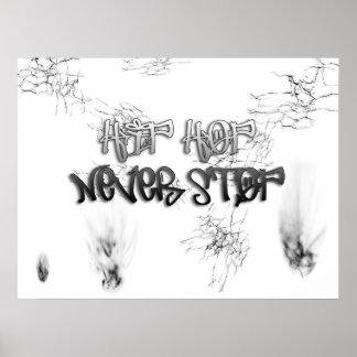 Hip Hop Never STOP Poster