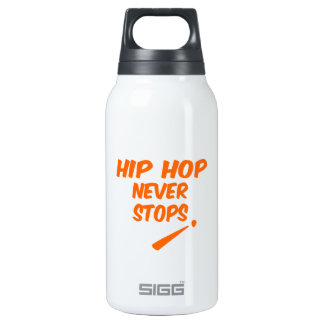 Hip Hop Never Stops 10 Oz Insulated SIGG Thermos Water Bottle