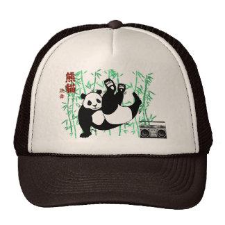Hip Hop Panda Cap Mesh Hats