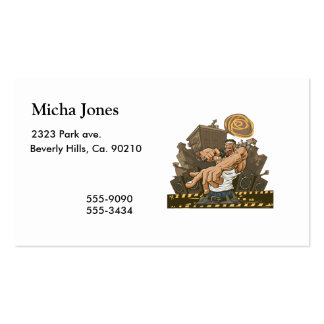 Hip Hop Party Don't Stop Business Cards
