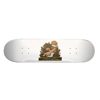 Hip Hop Party Don't Stop Skateboard Deck