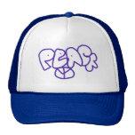 Hip Hop Peace Trucker Hat