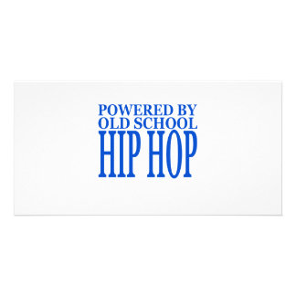 HIP HOP CUSTOMIZED PHOTO CARD