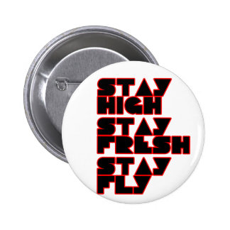 HIP HOP PINBACK BUTTON
