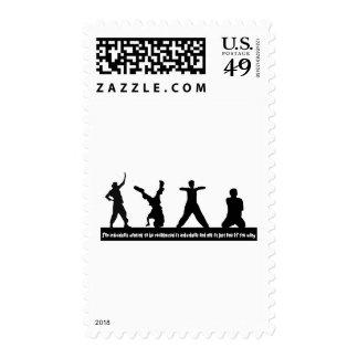 Hip Hop Postage Stamp
