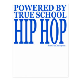 HIP HOP POSTCARD