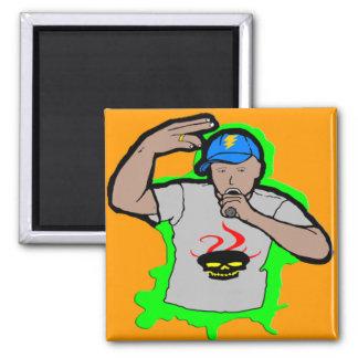 Hip Hop Rap 1 Refrigerator Magnets