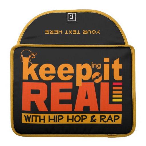 HIP HOP & RAP custom MacBook sleeve Sleeve For MacBook Pro
