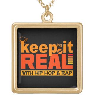 HIP HOP & RAP custom necklace