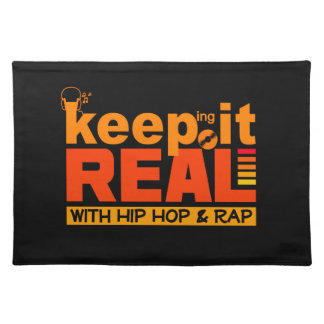 HIP HOP & RAP custom placemat