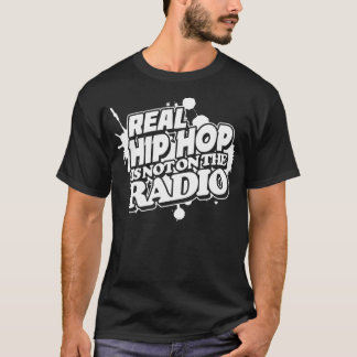 Hip Hop real no está en la radio Playera