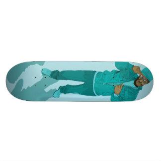 Hip Hop Retirement Village - Mr Aqua Skateboard