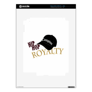 Hip Hop Royalty Decal For iPad 2