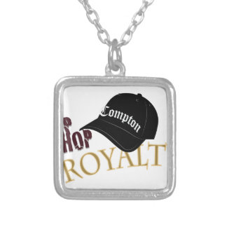 Hip Hop Royalty Silver Plated Necklace
