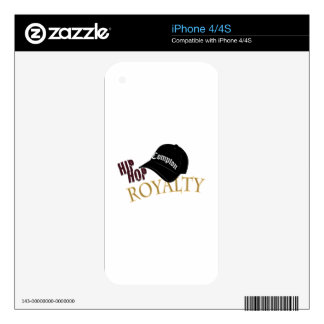 Hip Hop Royalty Skin For iPhone 4