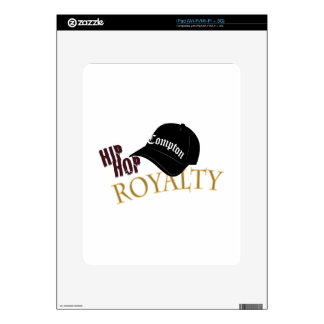 Hip Hop Royalty Skins For iPad