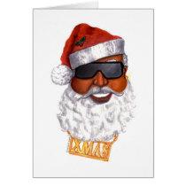 Hip Hop Santa Card