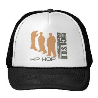 Hip Hop sincroniza su cuerpo Gorros Bordados
