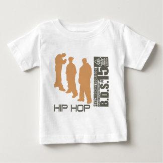 Hip Hop sincroniza su cuerpo Playera De Bebé