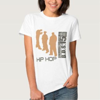Hip Hop sincroniza su cuerpo Poleras
