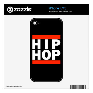 HIP HOP! SKIN FOR iPhone 4