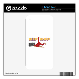 Hip Hop Skin For iPhone 4S