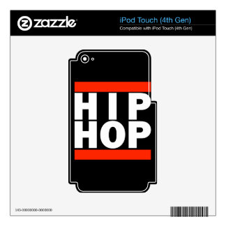 HIP HOP! SKIN FOR iPod TOUCH 4G