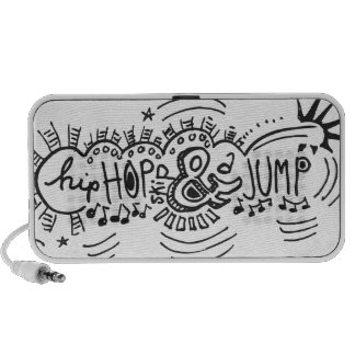 Hip Hop Skip Jump 3 iPhone Speakers
