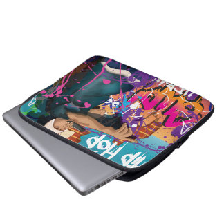 Hip Hop Star Laptop Sleeve