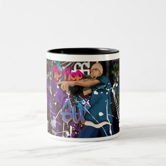 Hip Hop Star Two-Tone Coffee Mug