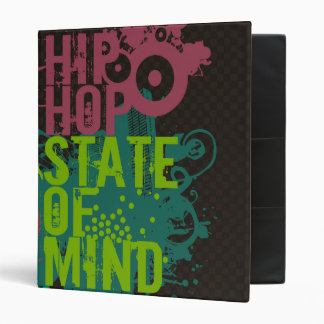 Hip Hop State of Mind 3 Ring Binder