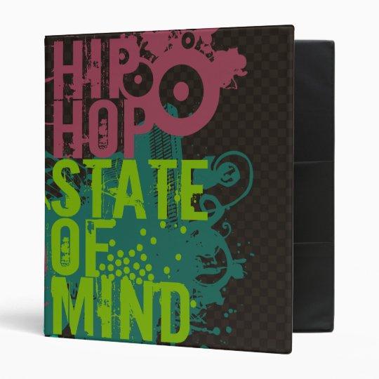 Hip Hop State of Mind 3 Ring Binder